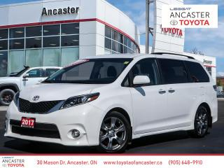Used 2017 Toyota Sienna SE - POWER DOORS|LEATHER|BLUETOOTH|BACKUP CAMERA for sale in Ancaster, ON