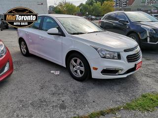 Used 2016 Chevrolet Cruze LT | Power Sunroof | No Accidents | Excellent Condition | Leather for sale in North York, ON