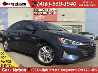 Used 2019 Hyundai Elantra Preferred ROOF | ALLOYS | TINTS | BU CAM for sale in Georgetown, ON