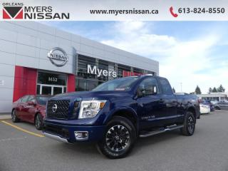 Used 2018 Nissan Titan PRO-4X  - Navigation -  Heated Seats - $288 B/W for sale in Orleans, ON