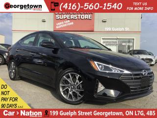 Used 2019 Hyundai Elantra Luxury LTHR | ROOF | BU CAM | COLLISION AVOIDING for sale in Georgetown, ON
