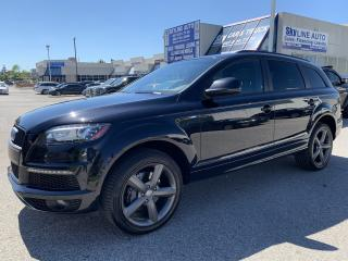 Used 2014 Audi Q7 TDI Progressiv NEW TIRES|S-LINE|7 PASSENGER|PANO ROOF| for sale in Concord, ON