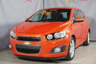 Used 2012 Chevrolet Sonic SPORT MAG 17'' SUNROOF DEM A DISTANCE for sale in Montréal, QC