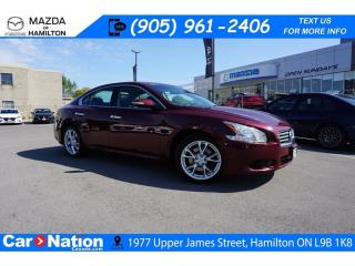 Used 2013 Nissan Maxima SV | LEATHER | SUNROOF | HEATED SEATS for sale in Hamilton, ON