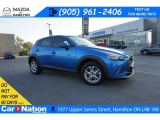 Used 2016 Mazda CX-3 GS | LEATHER | SUNROOF | REAR CAM | HEATED SEATS for sale in Hamilton, ON