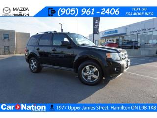 Used 2010 Ford Escape Limited 3.0L | AS-TRADED | LEATHER | SUNROOF for sale in Hamilton, ON