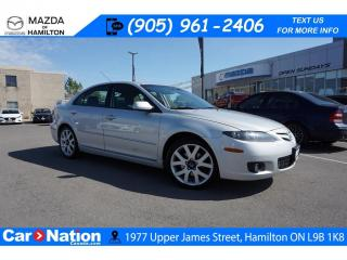 Used 2007 Mazda MAZDA6 GT | AS-TRADED | LEATHER | SUNROOF | V6 for sale in Hamilton, ON