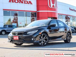 Used 2018 Honda Civic Sport Touring for sale in Milton, ON