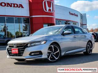 Used 2019 Honda Accord Sport 1.5T SPORT for sale in Milton, ON