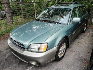 Used 2003 Subaru Outback 3.0 for sale in Burlington, ON