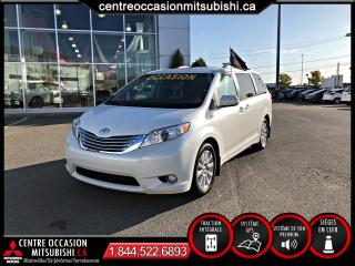 Used 2014 Toyota Sienna LIMITED AWD CUIR TOIT NAVIGATION for sale in St-Jérôme, QC