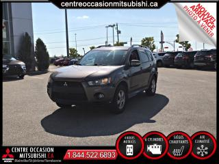 Used 2010 Mitsubishi Outlander 4X4 LS V6 7 PASSAGERS for sale in St-Jérôme, QC