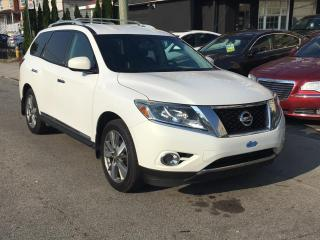 Used 2014 Nissan Pathfinder 4WD 4DR PLATINUM for sale in Scarborough, ON