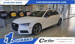 Used 2018 Audi A4 S-line QUATTRO *NAV * Premium + * 2.0L for sale in Québec, QC