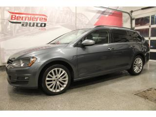 Used 2015 Volkswagen Golf Sportwagen Trendline for sale in Lévis, QC