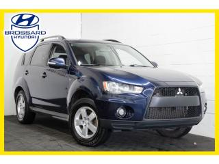 Used 2011 Mitsubishi Outlander 7 PASSAGERS, SIÈGES CHAUFFANMTS, BLUETOOTH for sale in Brossard, QC