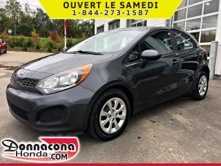Used 2014 Kia Rio LX+ *BLUETOOTH, CRUISE* for sale in Donnacona, QC