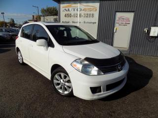 Used 2009 Nissan Versa ***SL FE+,AUTOMATIQUE,BLUETOOTH,MAGS,TOI for sale in Longueuil, QC