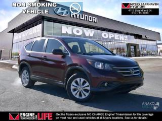 Used 2014 Honda CR-V EX  - Sunroof -  Bluetooth - $81.74 /Wk for sale in Nepean, ON