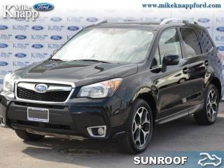 Used 2014 Subaru Forester 2.0XT Touring  - Sunroof for sale in Welland, ON