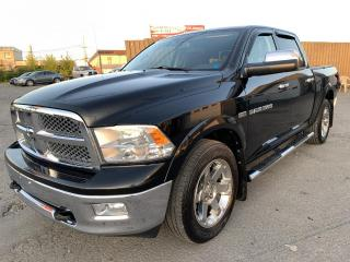 Used 2012 RAM 1500 Cabine muliplaces 4RM, 140,5 po Laramie for sale in Montréal-Nord, QC
