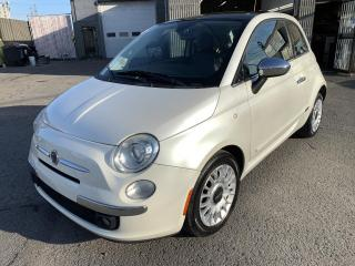 Used 2012 Fiat 500 Voiture à hayon 2 portes Lounge for sale in Montréal-Nord, QC
