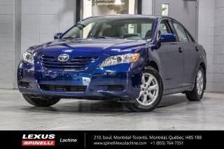 Used 2007 Toyota Camry **ON HOLD**LE; V6 A/C BAS KILO **OCCASION UNIQUE** OCCASION UNIQUE**TRÈS BAS KILOMÉTRAGE** GRP ÉLECTRIQUE COMPLET - CLIMATISATION - MAGS 16'' for sale in Lachine, QC