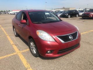 Used 2012 Nissan Versa 1.6 SL for sale in North York, ON