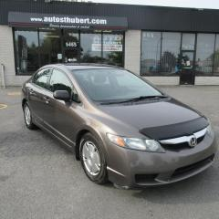 Used 2011 Honda Civic DX-G ** AUTOMATIQUE ** for sale in St-Hubert, QC
