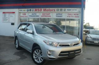 Used 2012 Toyota Highlander Hybrid LIMITED for sale in Toronto, ON