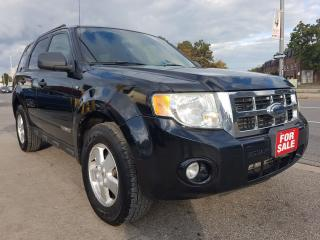Used 2008 Ford Escape XLT-EXTRA CLEAN-POWER SEATS-AUX-ALLOYS-MUST SEE!! for sale in Scarborough, ON