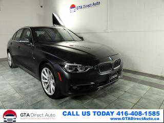 Used 2016 BMW 3 Series 328d xDrive Diese Nav Sun Camera Premium Certified for sale in Toronto, ON
