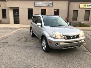 Used 2006 Nissan X-Trail Bonavista ED, AWD ,PANORAMIC SUNROOF,CERTIFIED ! for sale in Burlington, ON