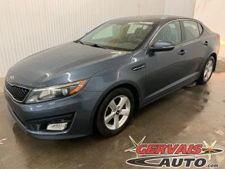 Used 2014 Kia Optima LX Mags Sièges Chauffants Bluetooth for sale in Trois-Rivières, QC