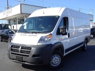 Used 2017 RAM 3500 ProMaster Extended, High Roof Line, Low Kms, Heavy Duty for sale in Vancouver, BC