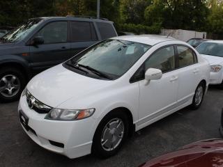 Used 2009 Honda Civic Hybrid HYBRID for sale in Burlington, ON