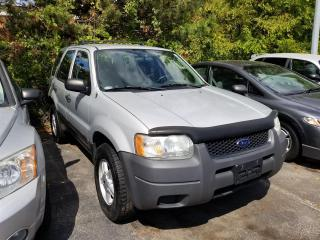 Used 2004 Ford Escape XLS for sale in Burlington, ON