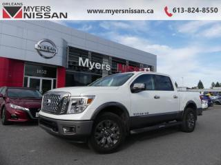 Used 2018 Nissan Titan Platinum  - Navigation -  Leather Seats - $322 B/W for sale in Orleans, ON