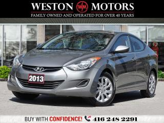 Used 2013 Hyundai Elantra HEATED SEATS*UNBELIEVABLE SHAPE!!* for sale in Toronto, ON