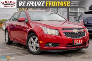Used 2011 Chevrolet Cruze LT | MOONROOF | 2 TONE INTERIOR | BLUETOOTH | for sale in Hamilton, ON
