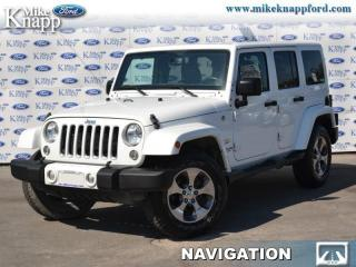 Used 2016 Jeep Wrangler Sahara  -  A/C for sale in Welland, ON