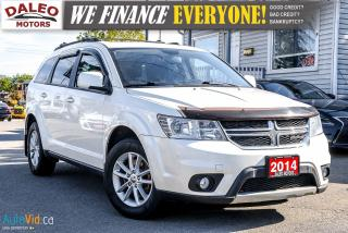 Used 2014 Dodge Journey SXT | 7 PASSENGER | DVD | 3.6L | BACKUP CAM | for sale in Hamilton, ON