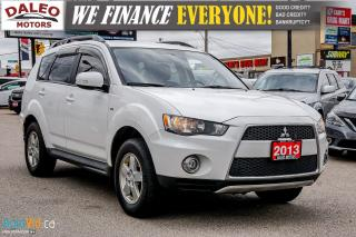 Used 2013 Mitsubishi Outlander LS | AWD | 7 PASSENGER | BACKUP CAM | HEATED SEATS for sale in Hamilton, ON