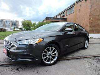Used 2017 Ford Fusion S Hybrid | Rev Cam | Bluetooth for sale in BRAMPTON, ON