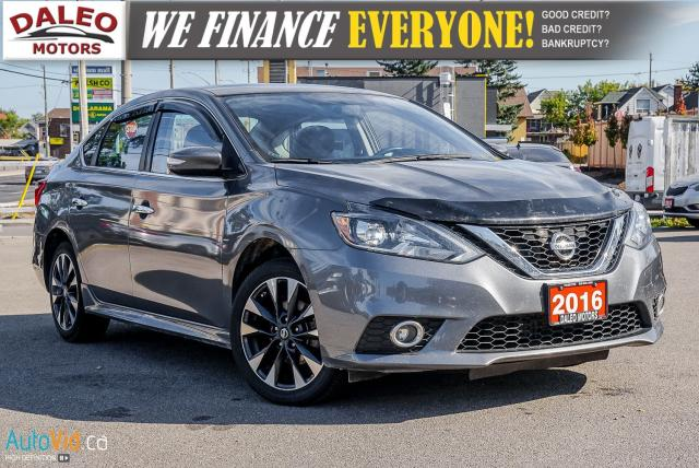 2016 Nissan Sentra SR | NAVI | LEATHER | HEATED SEATS | SUNROOF
