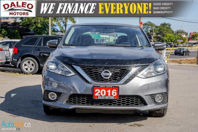 2016 Nissan Sentra SR / NAV / LEATHER / HEATED SEATS / SUNROOF Photo3
