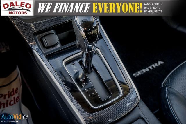 2016 Nissan Sentra SR / NAV / LEATHER / HEATED SEATS / SUNROOF Photo23