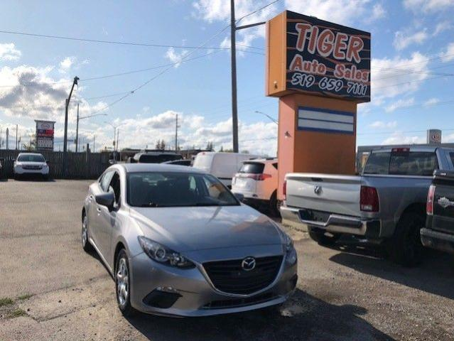 2015 Mazda MAZDA3 GX**ONLY 58KMS**AUTO**ONE OWNER**CERTIFIED
