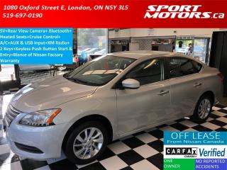 Used 2015 Nissan Sentra SV+Camera+Heated Seats+Bluetooth+XM+A/C+Cruise for sale in London, ON