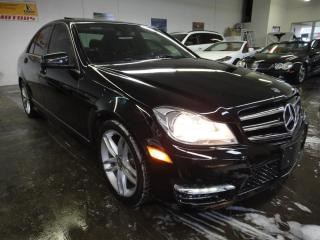 Used 2014 Mercedes-Benz C-Class C 300 Luxury 4matic Navi for sale in North York, ON